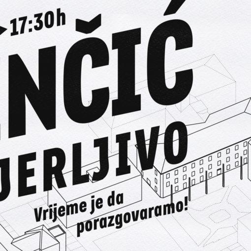 """Promjena termina događaja """"Benčić, povjerljivo"""""""