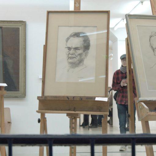 Tito u djelima likovnih umjetnika uz sudjelovanje i doprinos građana Rijeke