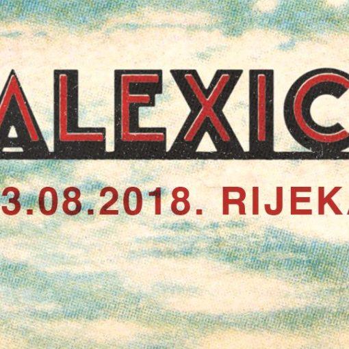 Slavni američki alt country/indie rock bend Calexico dolazi na Deltu!