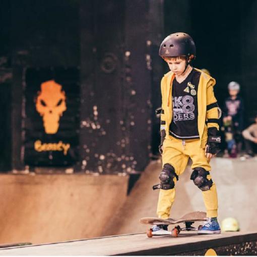 Skatepark u Vilniusu: Skejtanje se uči od malih nogu