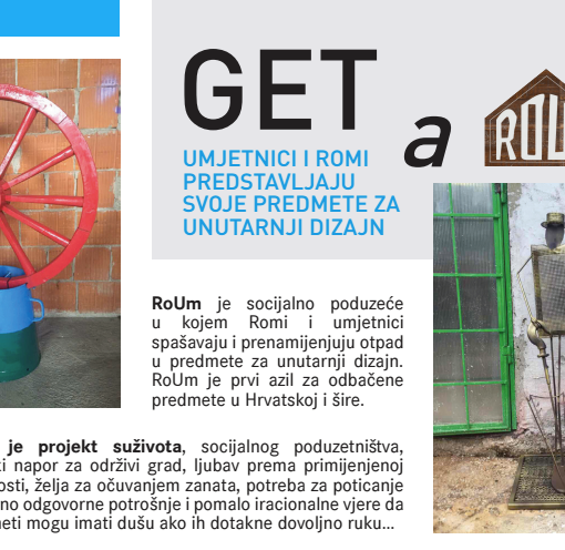 The RoUm Rijeka Art Colony will gather craftsmen, artisans, artists and experts to create home decorations – out of waste!