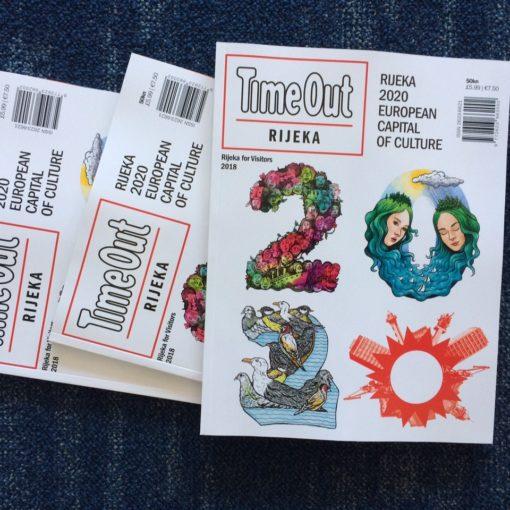 Iz tiska izašao prvi broj časopisa Time Out Rijeka