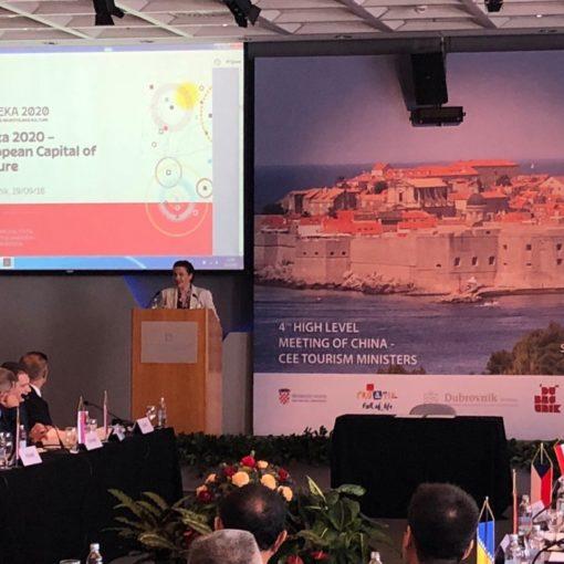 """Rijeka 2020 na summitu """"Kina + 16"""""""