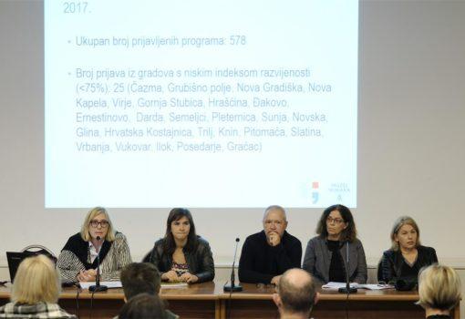 Ministarstvo kulture održalo orijentacijsku radionicu za natječaj razvoja publike