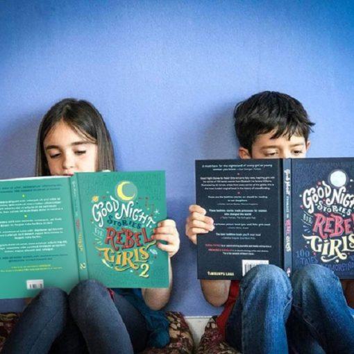 Opet knjiga ispod klupe: Priče za laku noć za mlade buntovnice 2