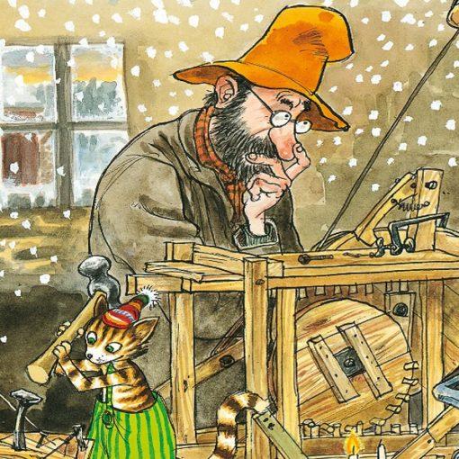 Slatki (i lijepi) švedski božićni trolist Svena Nordqvista