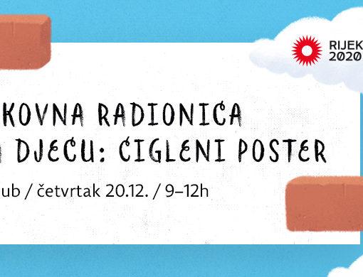 "Prijavi se: Likovna radionica ""Cigleni poster"""