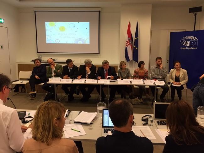 Prezentacija riječke kandidature za Europsku prijestolnicu kulture 2020. godine pred Povjerenstvom za odabir kandidata