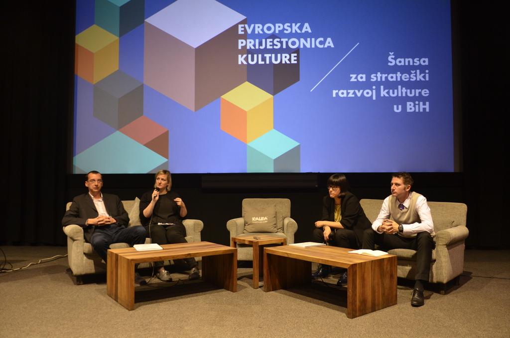Gostovanje na tribini o EPK u Sarajevu