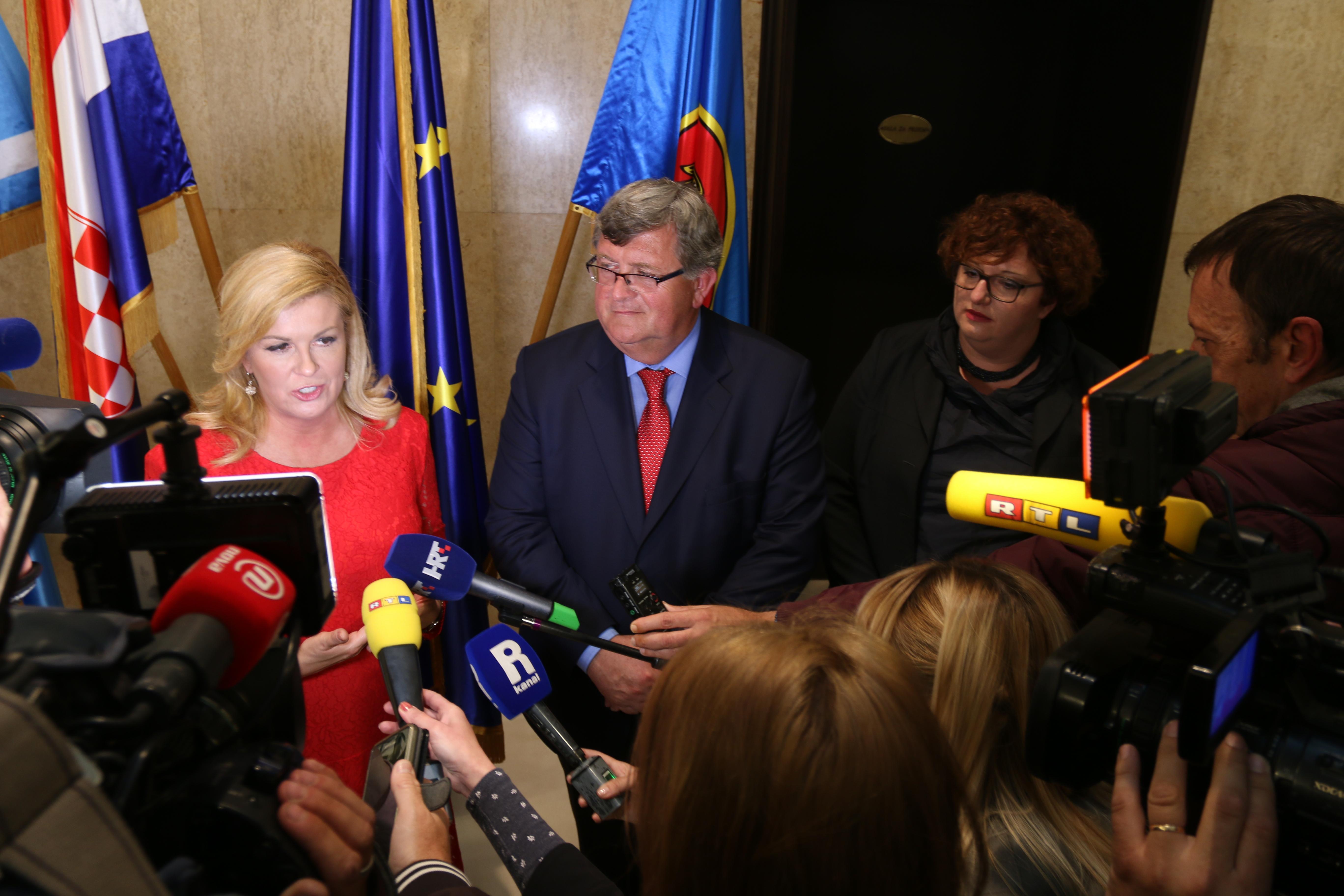 Predsjednica Kolinda Grabar Kitarović: Učinit ću sve što je u mojoj moći kako bismo promovirali i Rijeku i projekt EPK