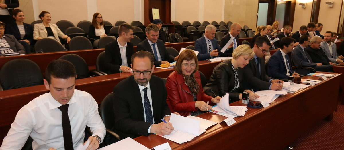 Primorje-Gorski Kotar County municipalities and cities sign