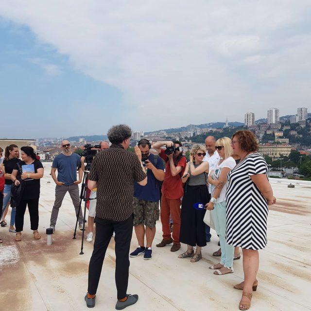 """Delegacija predstavnika """"sedme sile"""" u posjeti Rijeci 2020: Danas smo se družili s novinarima"""
