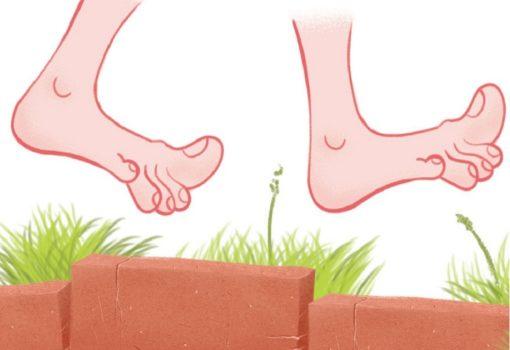 Tvoja senzorna stazica: Skinimo čarape, osjetimo stopala!