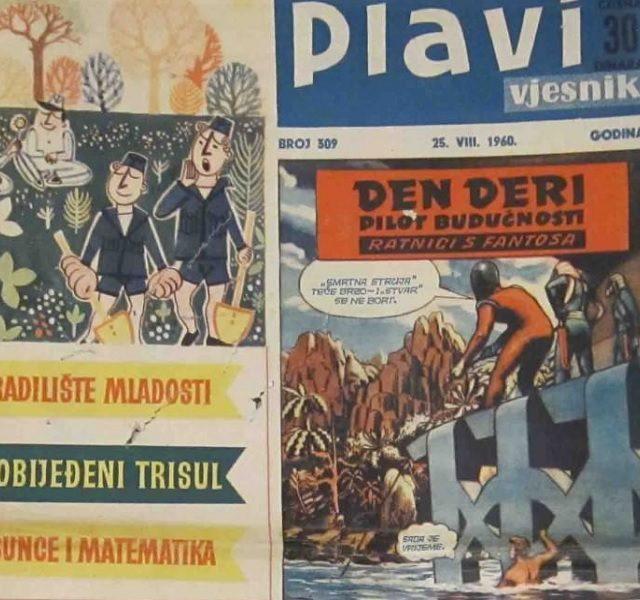 Plavi vjesnik – zabava u zlatno vrijeme stripa (gotovo bez televizije)