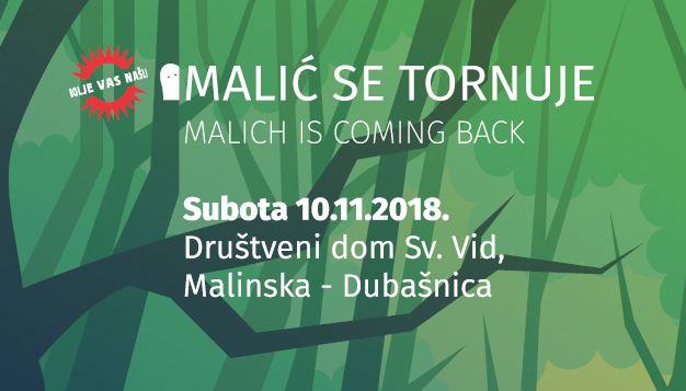 Malić se tornuje / Malich is coming back
