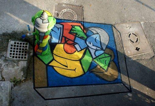 Upoznaj čari ulične umjetnosti