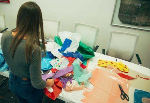 Izrada božićnih ukrasa od plastičnih vrećica s Tanjom Blašković