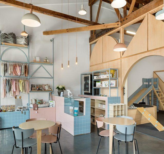 """Inspiracija iz Kalifornije: otvoren dizajnerski sređen """"coworking"""" prostor za kreativce s djecom"""