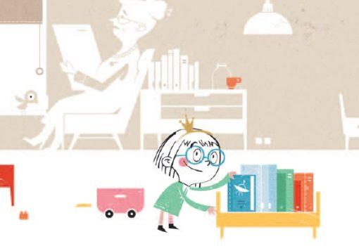 Vera među knjigama: slatka i lijepa slikovnica koja će stvarati nove čitatelje