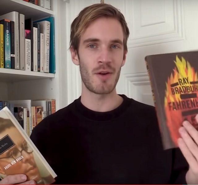 """Sve načitaniji """"jutjuber"""": PewDiePie prošle godine pročitao 72 knjige i preporučio ih videom"""