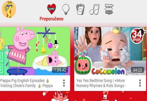YouTube Kids i u Hrvatskoj: hipnotičko šareno ruho popularne platforme
