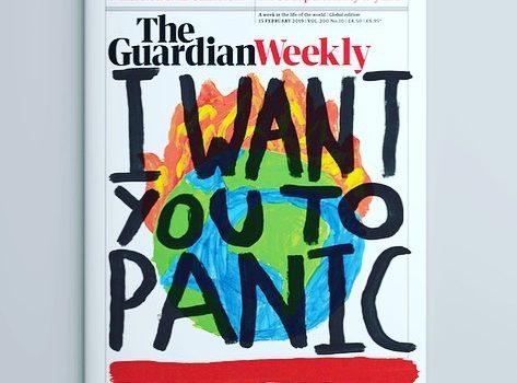 The Guardian Weekly o aktivizmu u rukama djece: borba protiv klimatskih promjena kao inspiracija