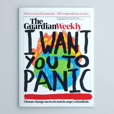 Ovotjedno izdanje The Guardian Weekly: djeca protiv klimatskih promjena!