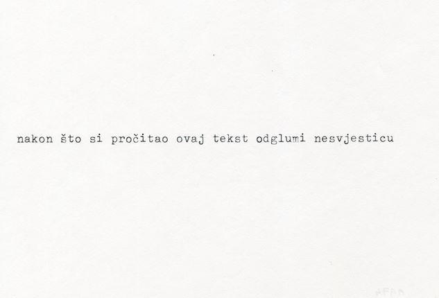 [MMSU] Goran Trbuljak: nikada do sada viđen rad neviđenog umjetnika