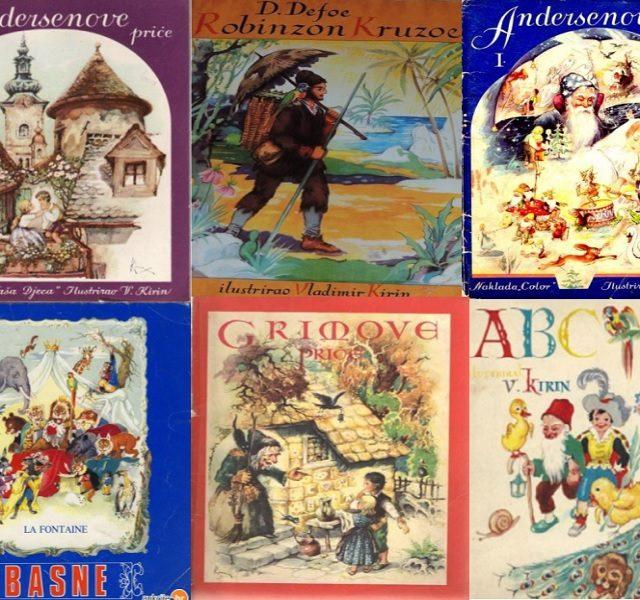 Akcija prikupljanja slikovnica i knjiga vrijednog ilustratora: U potrazi za Kirinom!