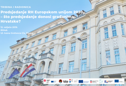 Tribina i radionica uoči predsjedanja RH Europskom unijom 2020.