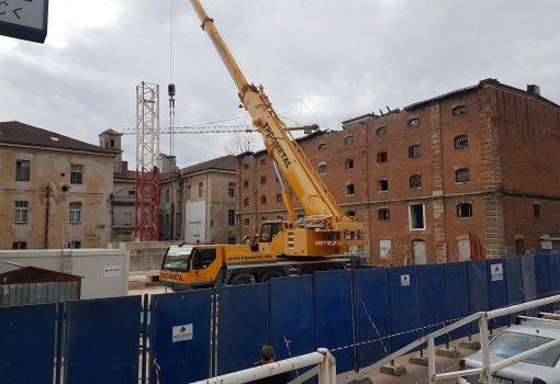 """Radnici u akciji: Počeli radovi na izgradnji Dječje kuće u kompleksu """"Benčić"""""""