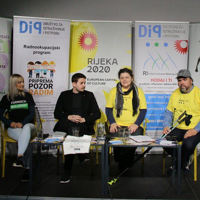"Predstavljen projekt ""RI urban inclusive walking 2020"" za osobe s teškoćama u razvoju"