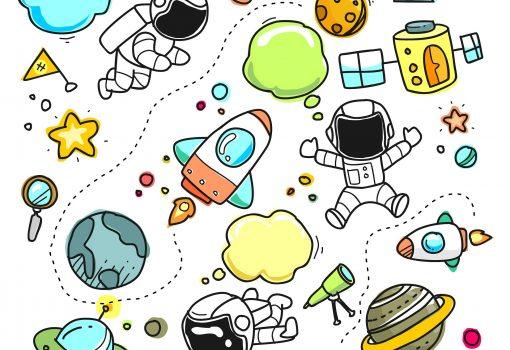 Ono kad možeš lansirati crtež u svemir…