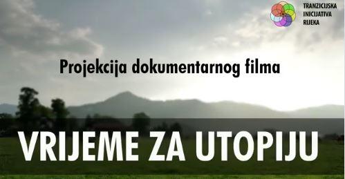 Revija zelenog filma u RiHubu: Vrijeme za utopiju
