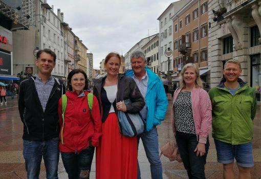 Delegacija švedskih pročelnika za kulturu u studijskom posjetu Rijeci