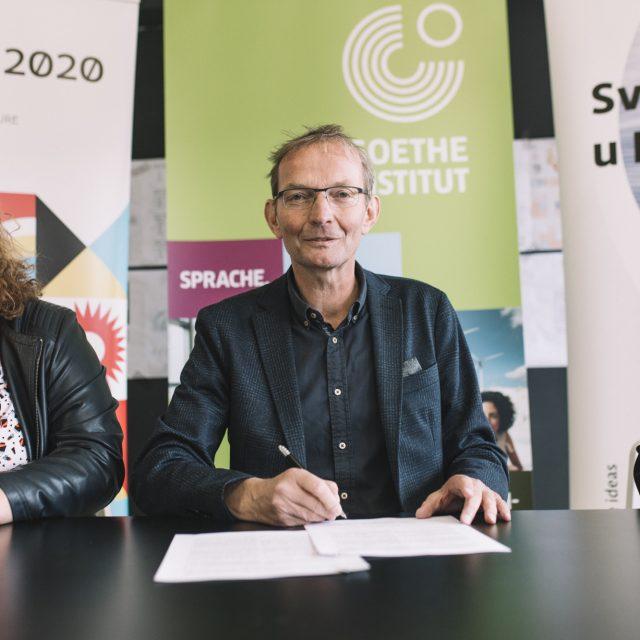 Potpisan sporazum o suradnji između Goethe-Instituta Kroatien,  Sveučilišta u Rijeci i RIJEKE 2020 d.o.o.