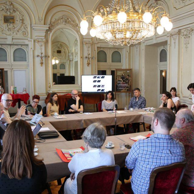 """Izlaganja stručnjaka pretkonferencije """"Performance Studies international"""" u RiHubu"""