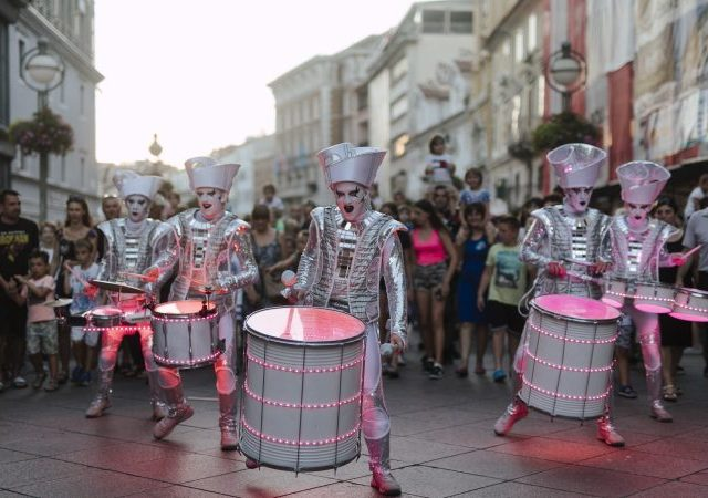 A great street spectacle in front of thousands of people opens the children's Festival Tobogan Rijeka 2020 – European Capital of Culture