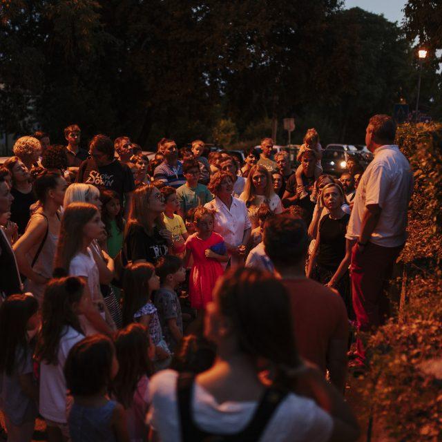 """Održana """"Divlja noć"""" u parku Nikole Hosta"""