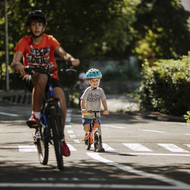 Održan prvi dan vožnje bicikli na poligonu Doma mladih