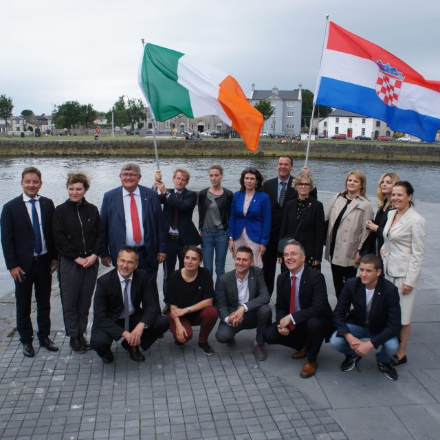 Delegation of European Capital of Culture Rijeka 2020 celebrates Croatian Statehood Day in the Republic of Ireland