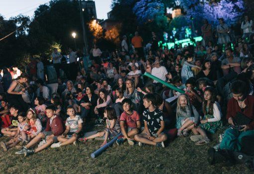 """Velikim tulumom u parku Vladimira Nazora zatvoren dječji festival """"Tobogan"""""""