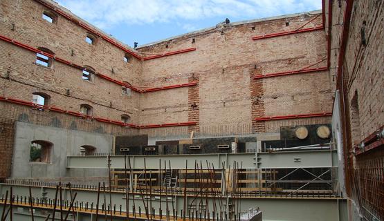 Children's House Construction Progressing well in Rijeka's prospective Art Quarter