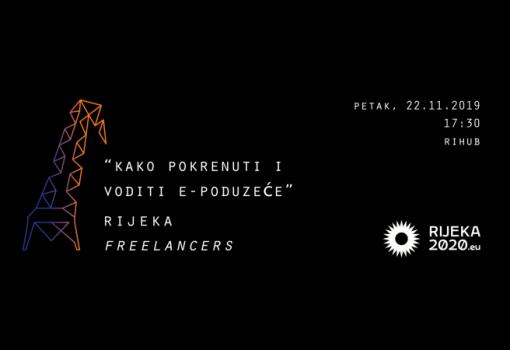 """Rijeka Freelancers Meetup organizira predavanje """"Kako pokrenuti i voditi e-poduzeće"""""""