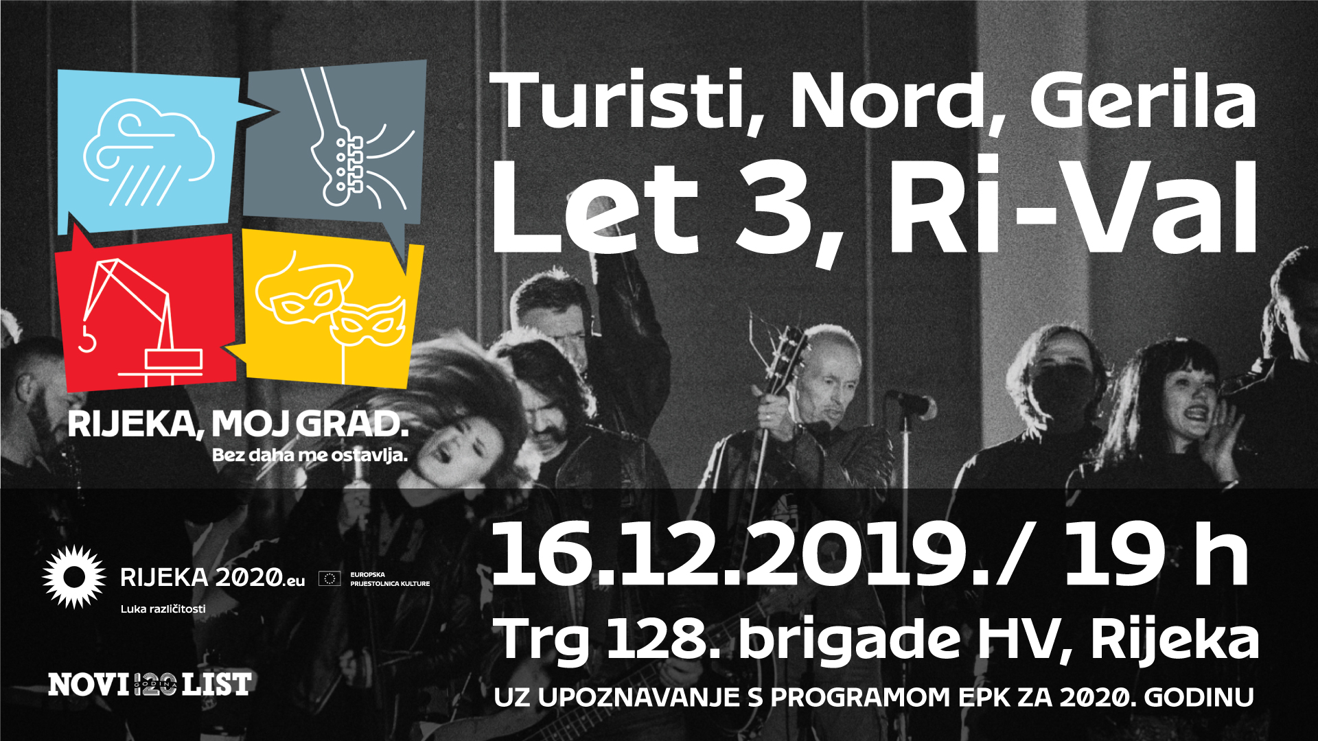 Koncert Rijeka moj grad