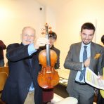 """Opening of the exhibition on the Rijeka native Franjo Kresnik – the man who read violins and discovered the """"secret"""" to the Stradivarius violins"""