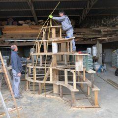 Započela izrada umjetničke instalacije koja se postavlja u Lovranskoj Dragi u sklopu Lungomare Art programa