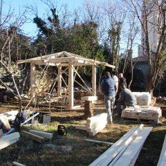 Nova drvena sjenica i mediteranske biljke za ljepši kvart Mlaka