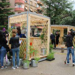 Postavljeni prvi Zeleni paviljoni
