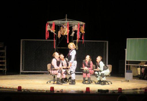 Kazalište Kerempuh u Rijeci gostovalo s predstavom Bilježnica Robija K.
